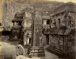 Ellora. Temple of Kylas
